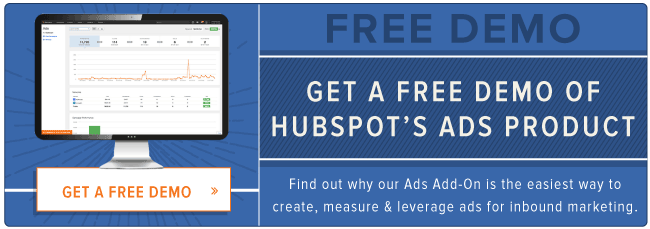 Demo HubSpot's Ads Add-on for Free