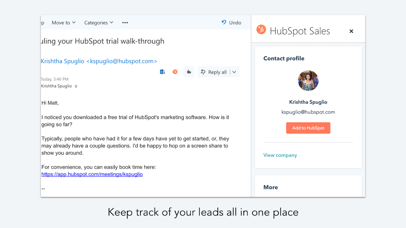 outlook integrations email integrations from hubspot connect directory