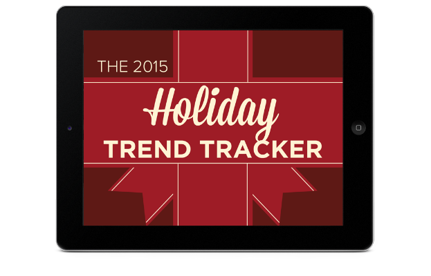 2015 Holiday Trend Tracker