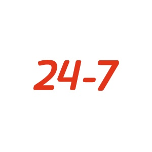 """24-7"""