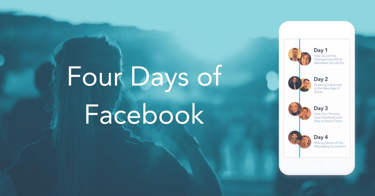 Four Days of Facebook