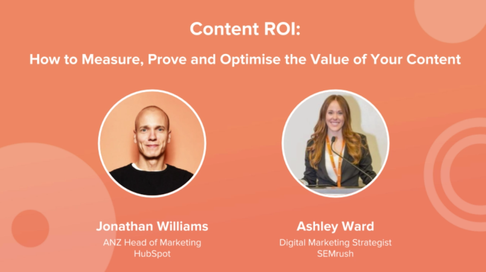 Content ROI - How to Measure, Prove and Optimise the Value of Your Content