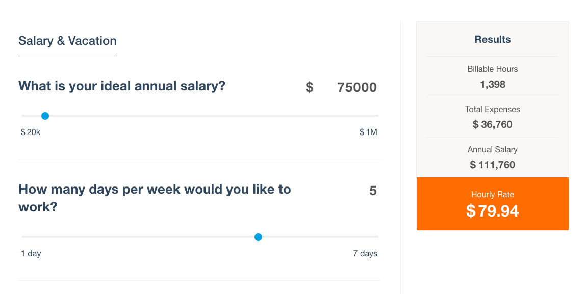 The Freelance Hourly Rate Calculator