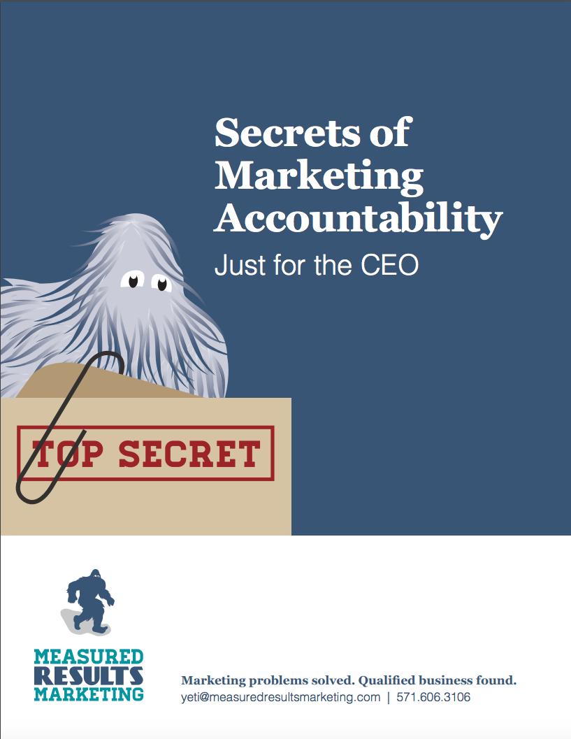 Secrets of Marketing Accountability