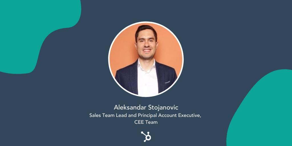 Careers HubSpotlight: Emerging Markets Sales Q&A withAleksandar Stojanovic