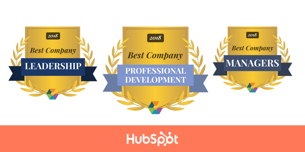 HubSpot Honored with Comparably 2018 Workplace Awards Including #1 Best Leadership Team and Best Managers