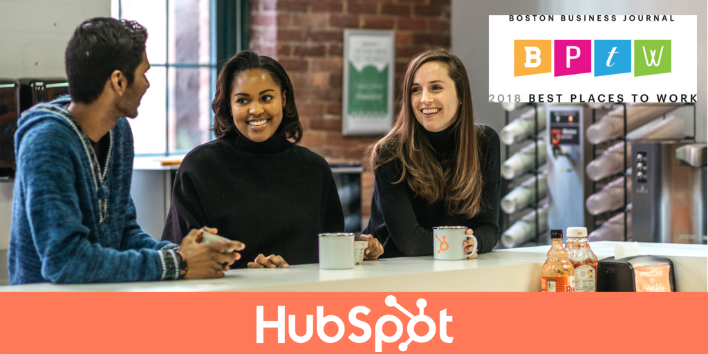 HubSpot Named the #1 Best Place to Work 2018 by the Boston Business Journal