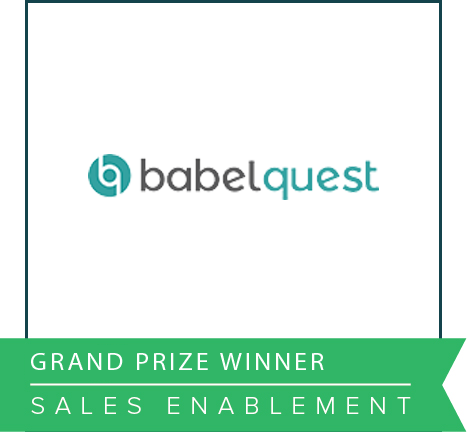 Babelquest Impact Awards 2016 Grand Prize Winner Sales Enablement.png