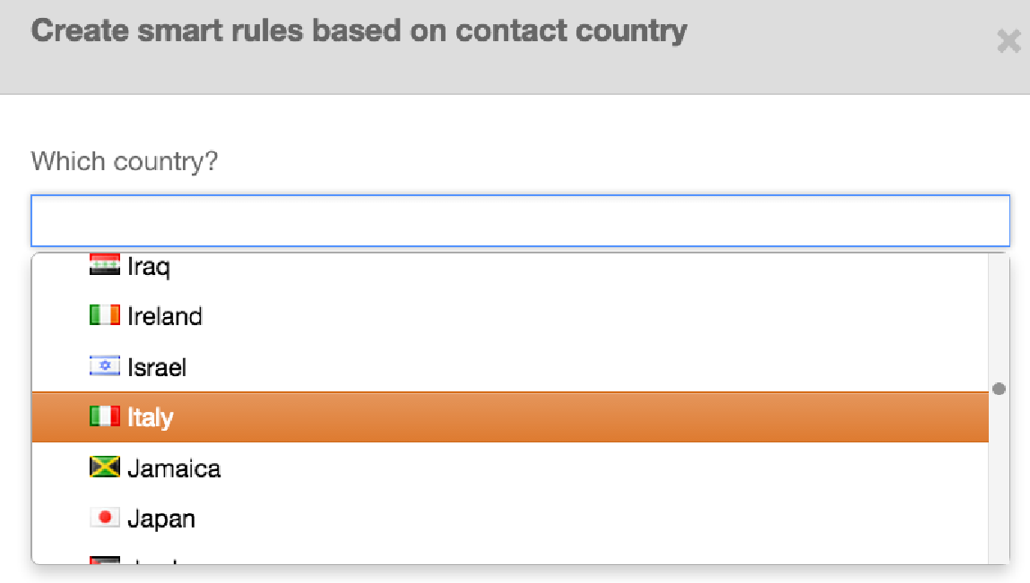 Personalize content based on Country within HubSpot