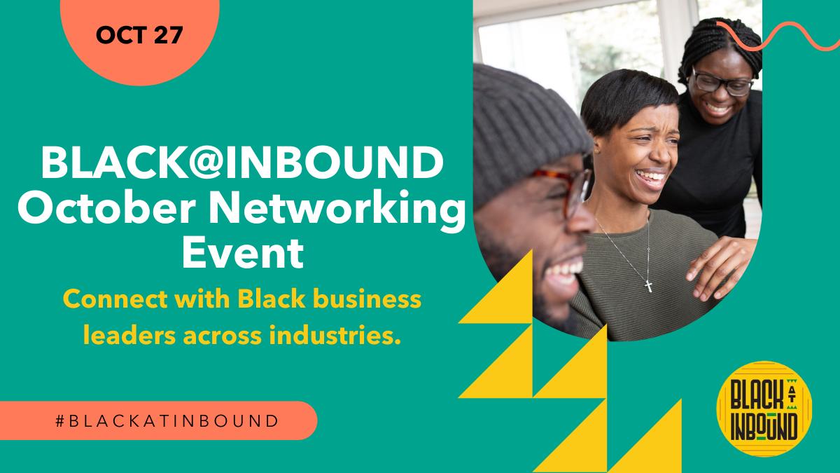 Black@INBOUND October Networking Event