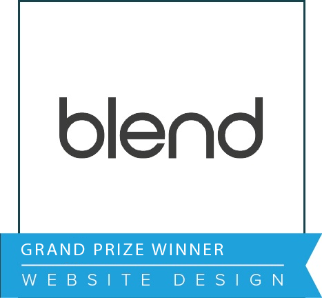 Blend Impact Awards 2016 Grand Prize Winner Website Design.png