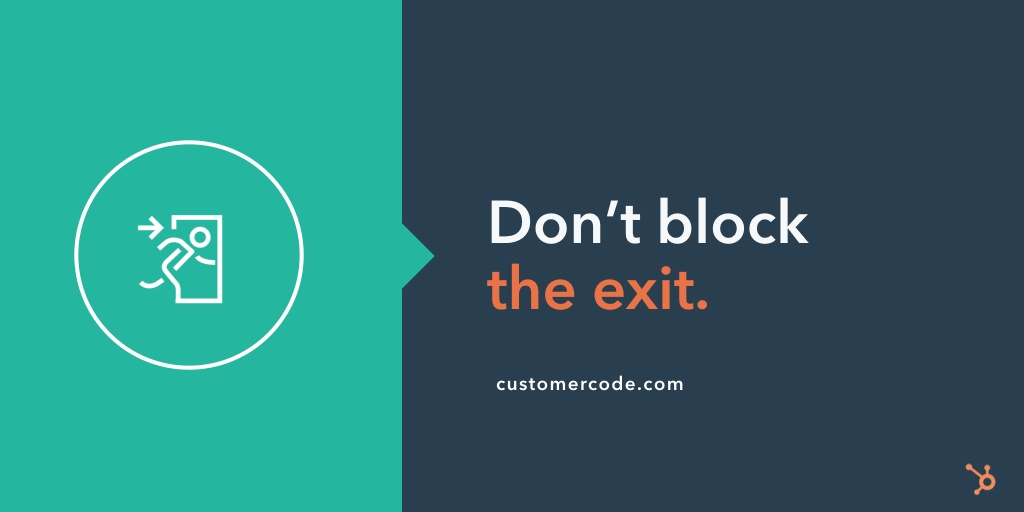 customer-code-dont-block-the-exit