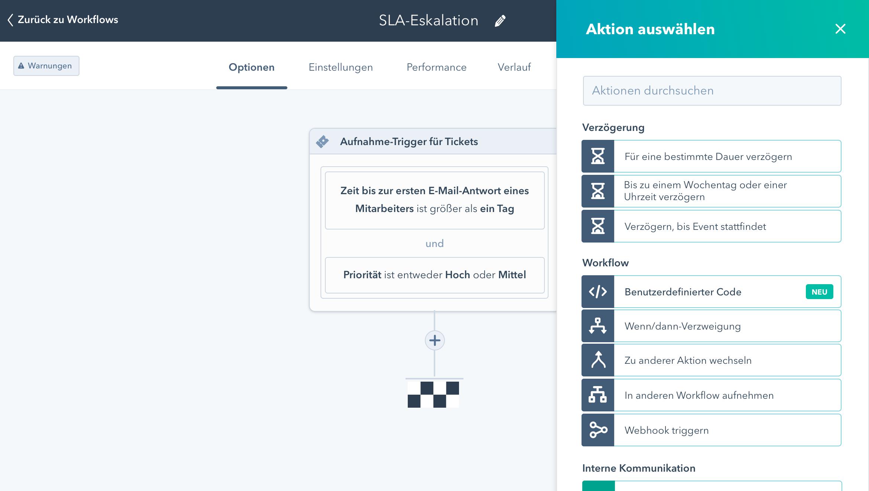 programmierbare automatisierung mit javascript in hubspot