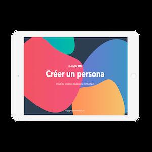 Outil de création de persona HubSpot