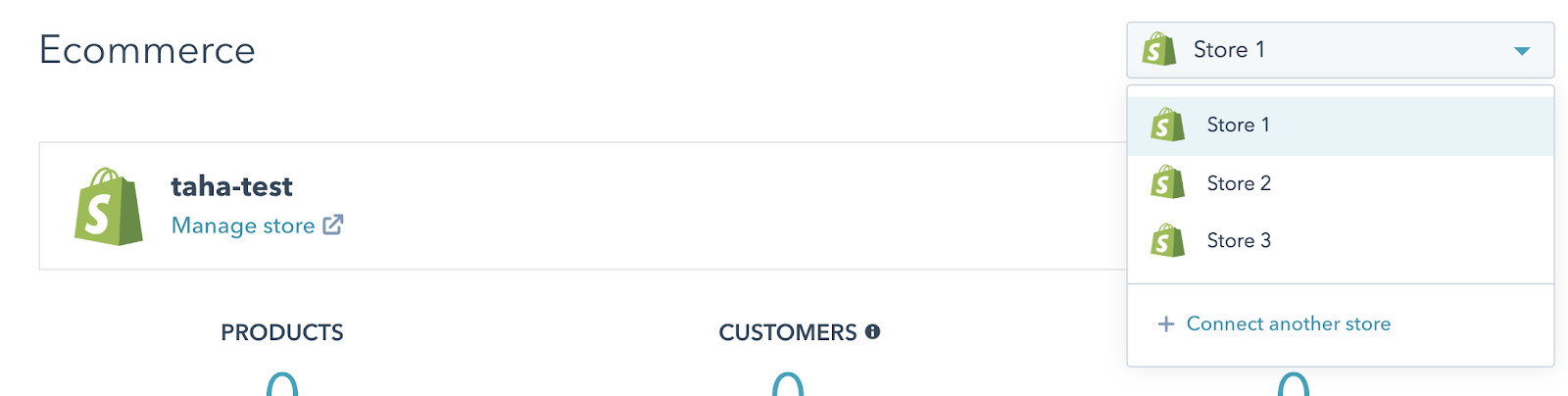 Connect Multiple Shopify Stores To Hubspot