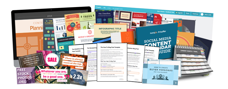 The Ultimate Kit of Content Creation Templates