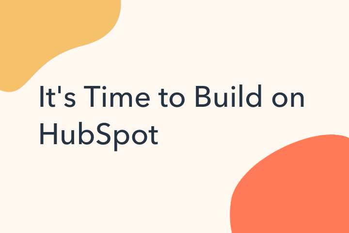 HubSpot Introduces New App Accelerator Program to Create Built-for-HubSpot Apps that Solve for Customers