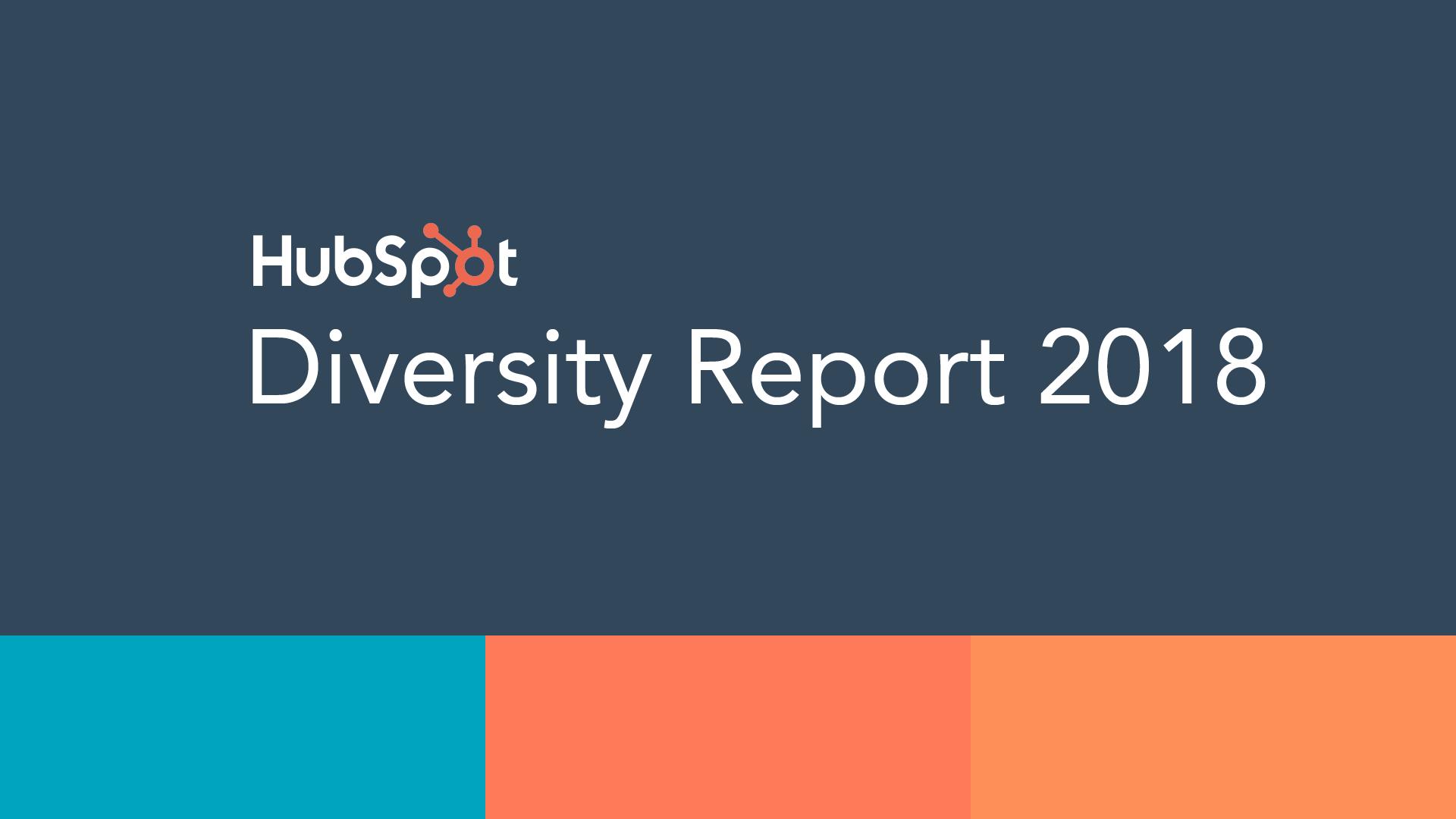 HubSpot Releases 2018 Diversity Report, Reflects on Progress