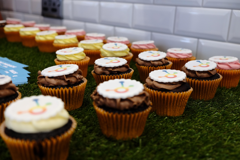 Yummy Pride cupcakes