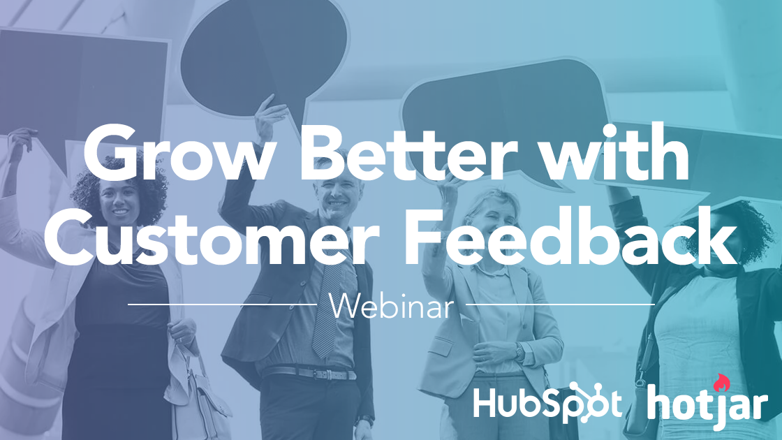 Grow Better with Customer Feedback