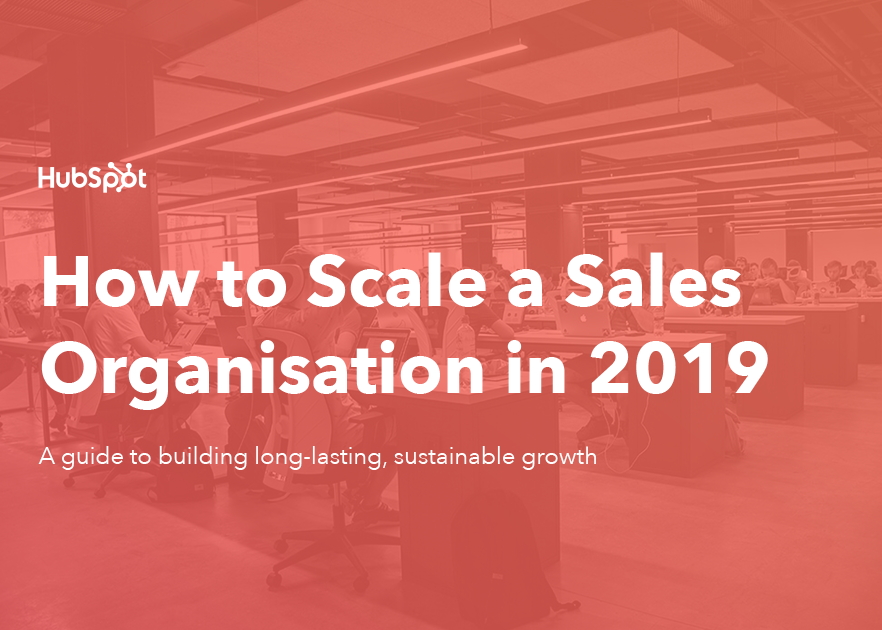 How to Scale a Sales Organization