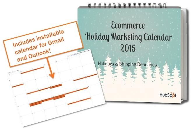 Ecommerce Holiday Marketing Calendar