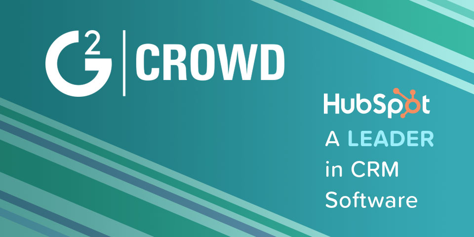 HubSpot Named a Leader in G2 Crowd Spring 2017 CRM Grid