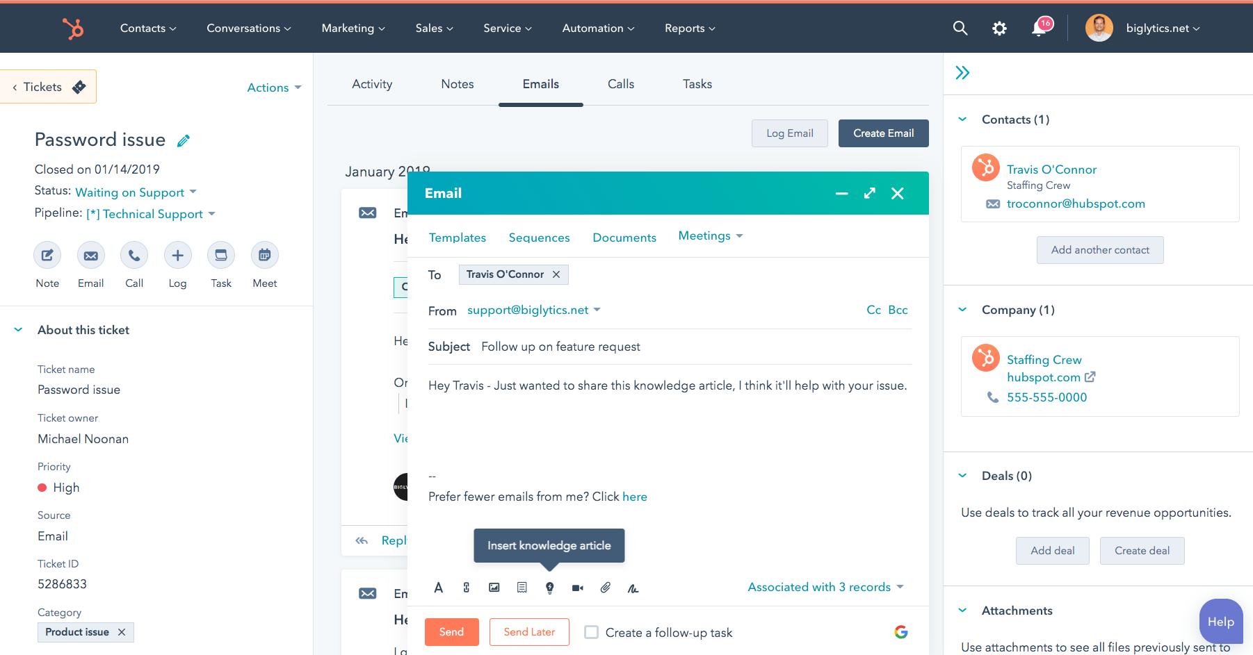 Service Hub Overview Hubspot