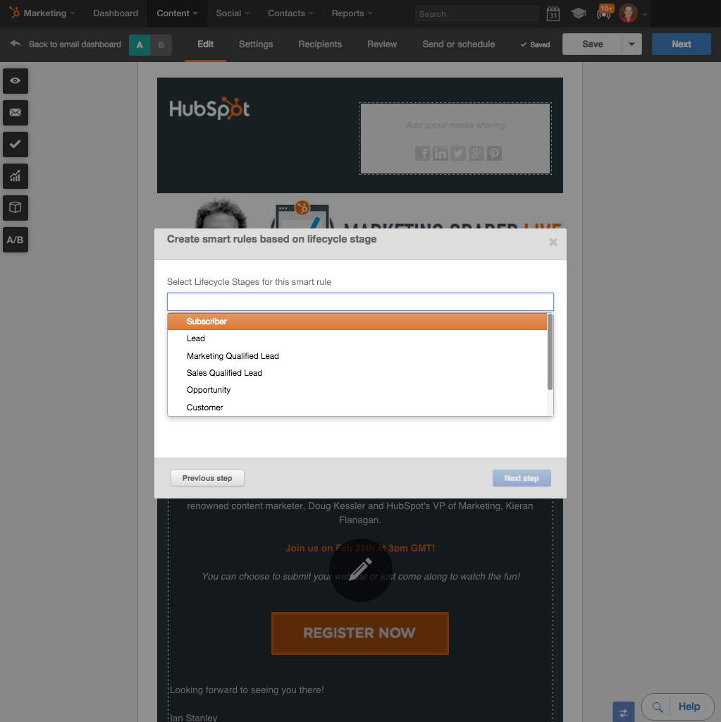 Personalize Every Email with HubSpot Smart Content