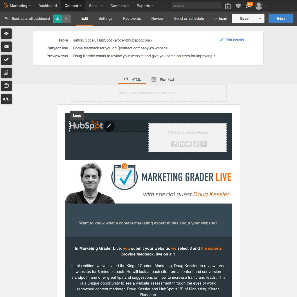 Send Effective Email with HubSpot