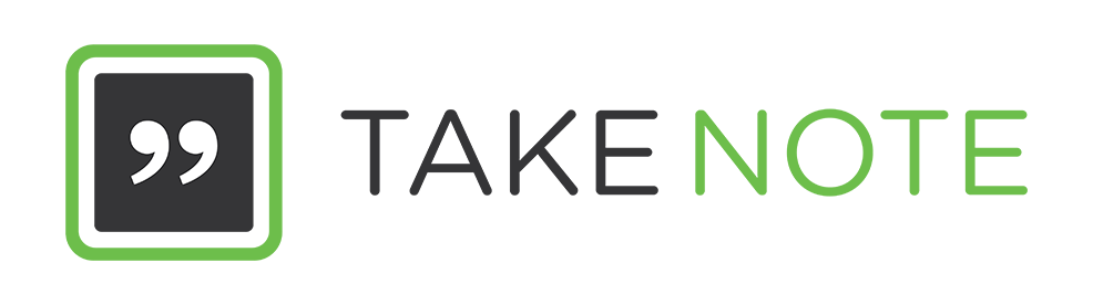 Take Note Logo