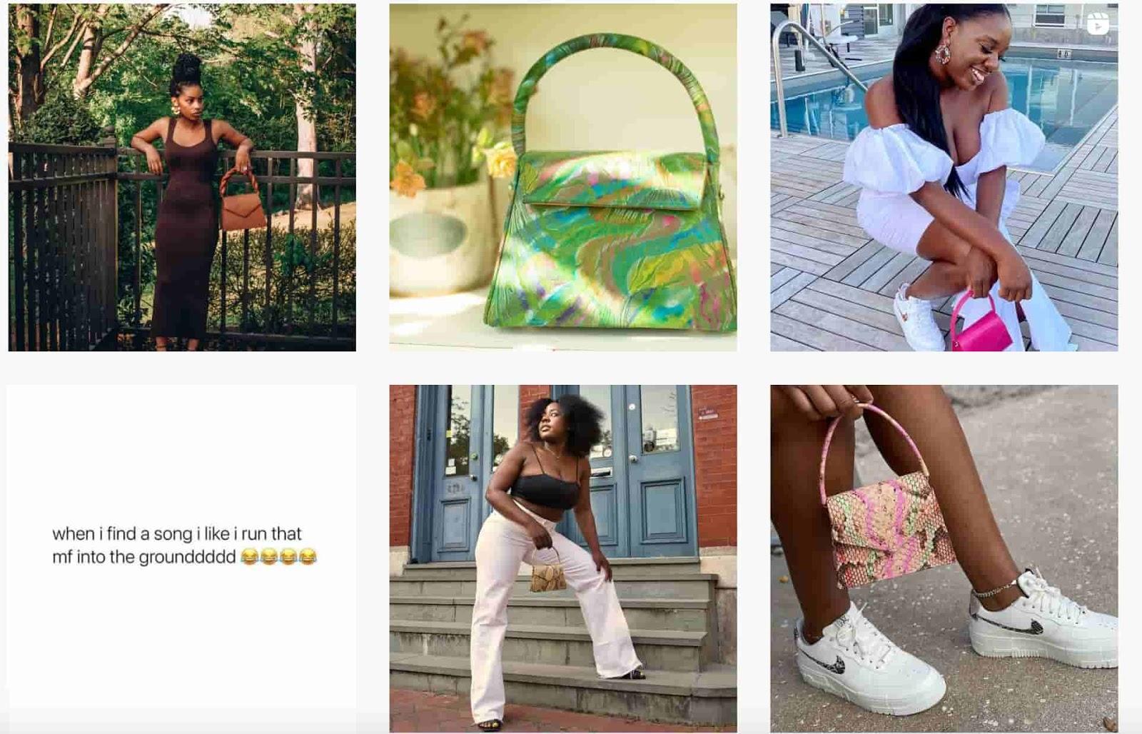Anima Iris instagram page