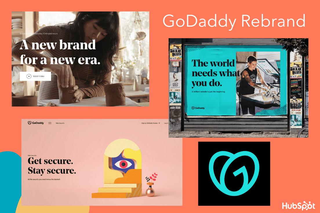 GoDaddy's major rebrand in 2020
