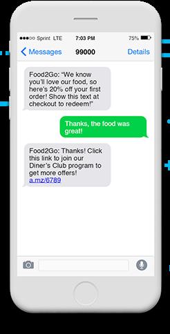 Short message service SMS