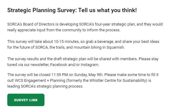 survey introduction example: SORCA