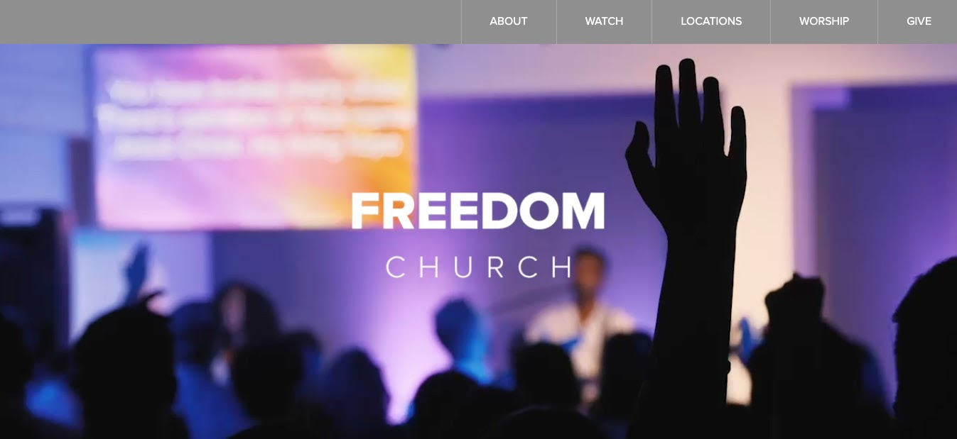 church websites: Freedom Church