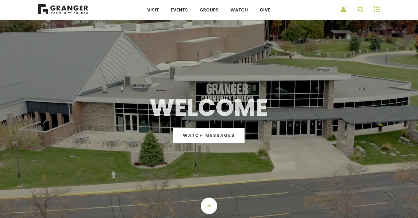 church websites: Granger Community Church