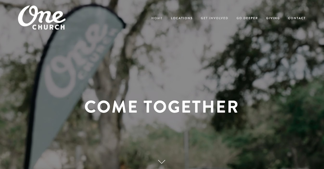 church websites: One Church