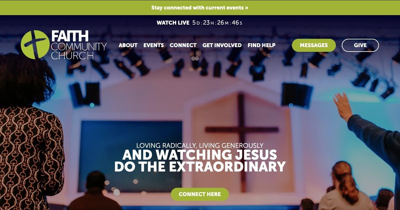 church websites: Faith Community Church