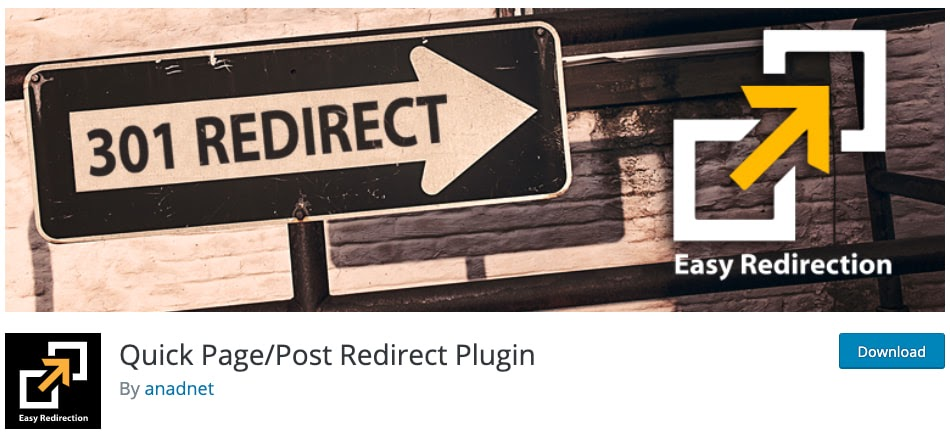 download page for the wordpress traffic plugin quick page post redirect