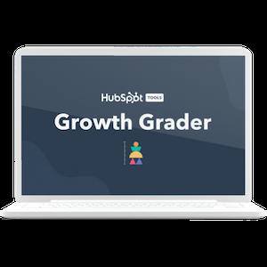 Growth Grader laptop