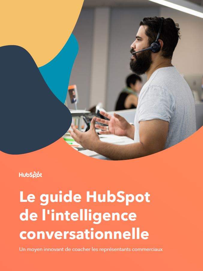 Image du guide HubSpot sur l'intelligence conversationnelle