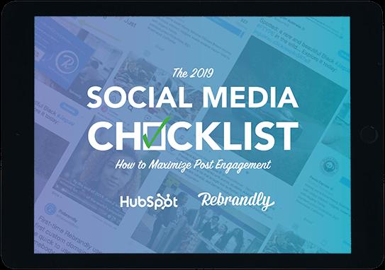 The 2019 Social Media Checklist