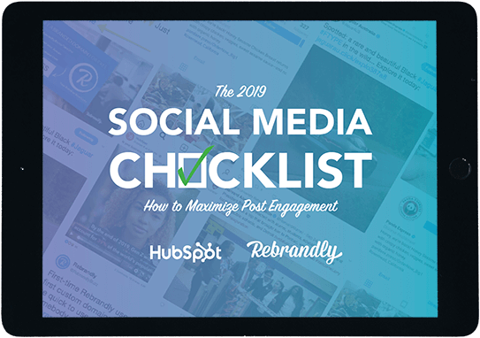 The 2019 Social Media Checklist