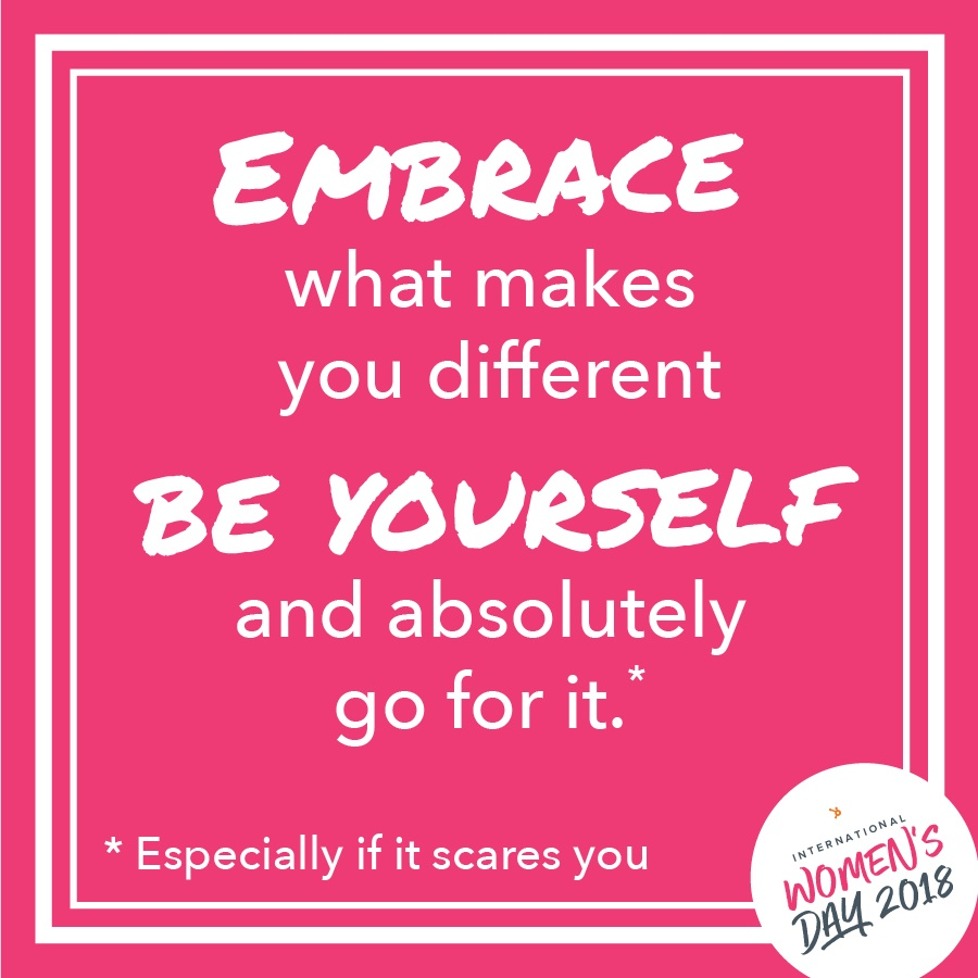 International Women's Day, Women's Day 2018, Lifestyle Blogger, Fay Simone, embrace, be yourself