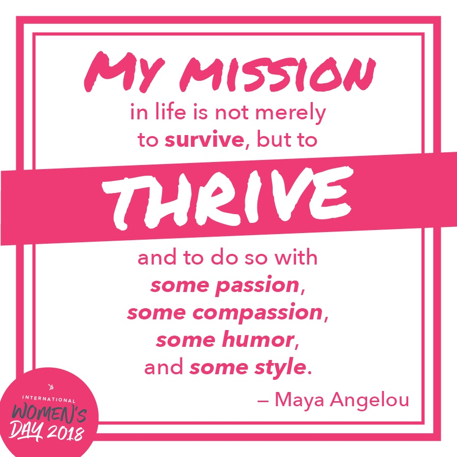 International Women's Day, Women's Day 2018, Lifestyle Blogger, Fay Simone, my mission, survive, thrive