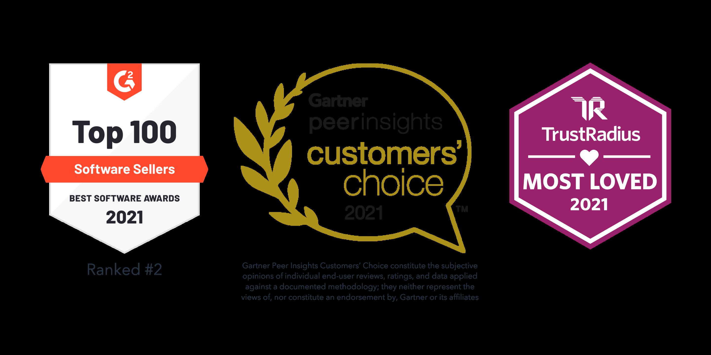 HubSpot Earns Multiple Customer Review Awards, Including #2 Best Global Seller for 2021 by G2