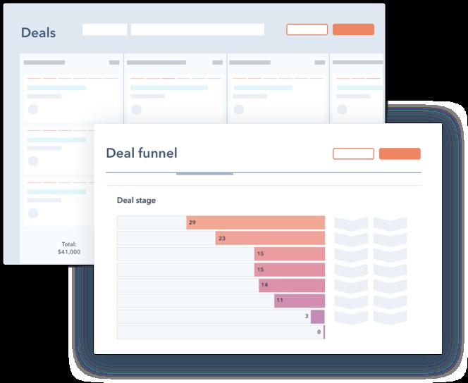 HubSpot CRM platform deals software