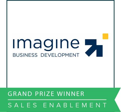 Imagine Business Development Impact Awards 2016 Grand Prize Winner Sales Enablement.png