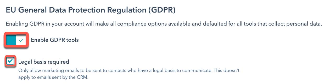 enable-GDPR-settings